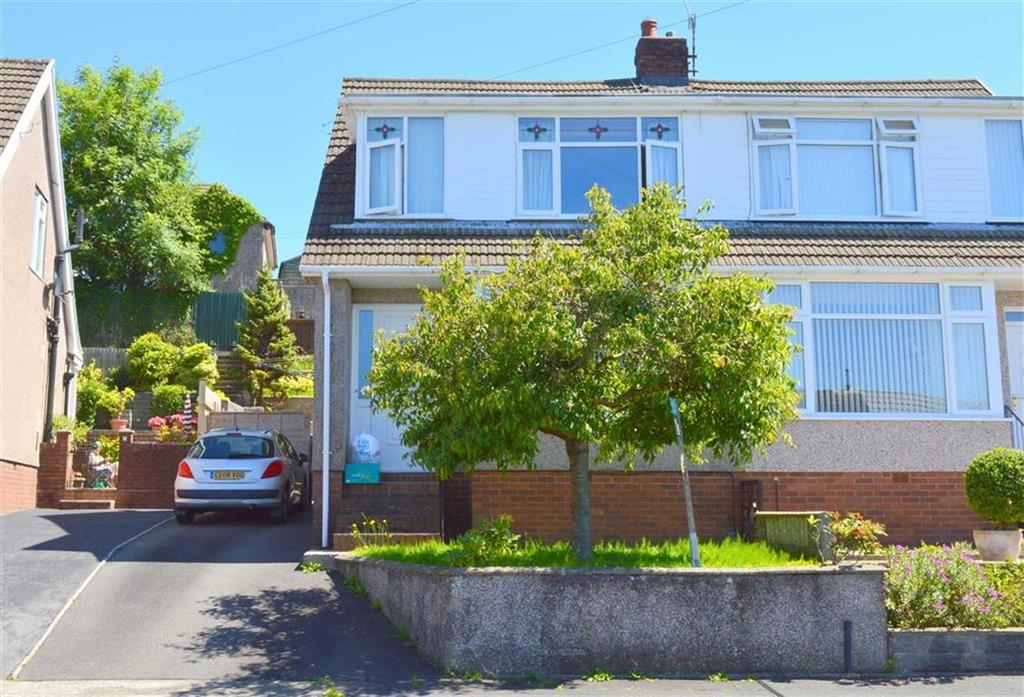 3 Bedrooms Semi Detached House for sale in Woodcote, Killay, Swansea