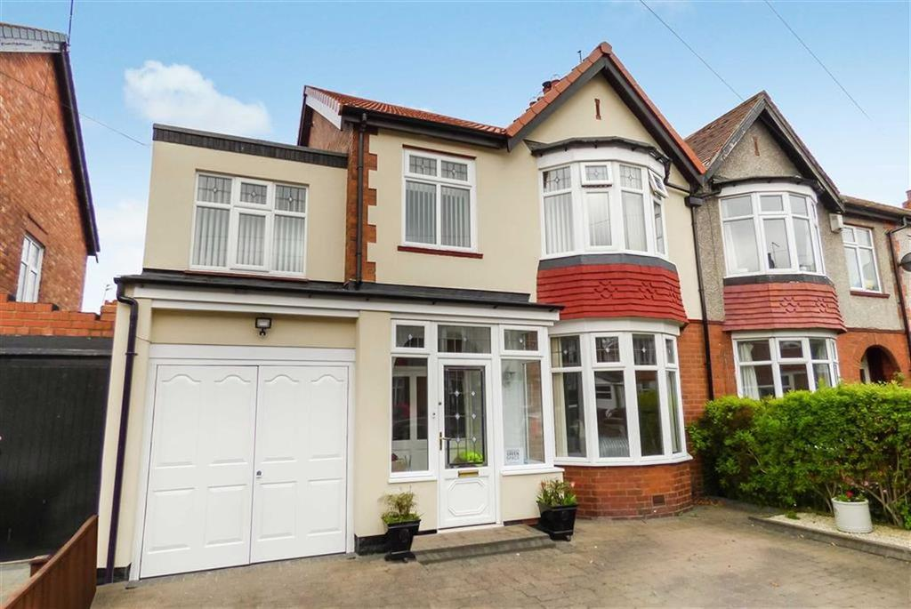 4 Bedrooms Semi Detached House for sale in Dale Road, West Monkseaton