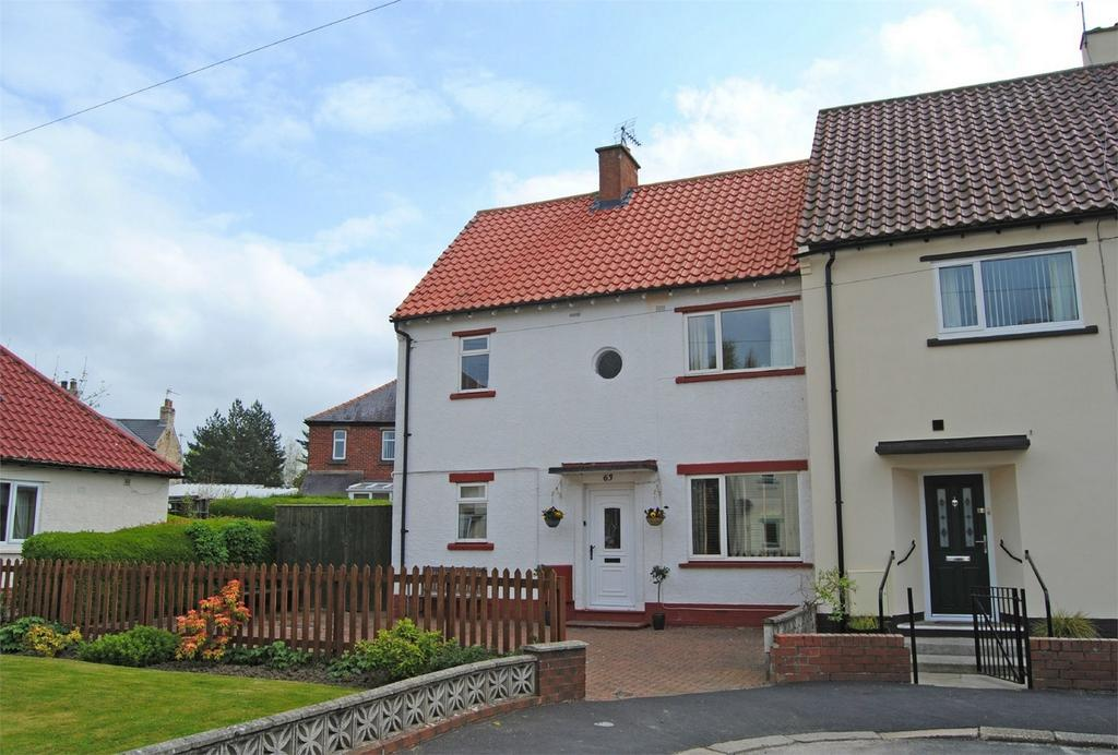 3 Bedrooms Semi Detached House for sale in 63 Marwood Drive, Barnard Castle, County Durham