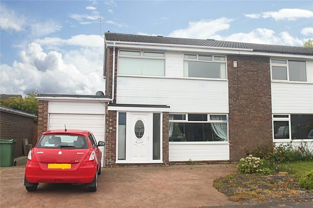3 Bedrooms Semi Detached House for sale in Roundhay Drive, Eaglescliffe