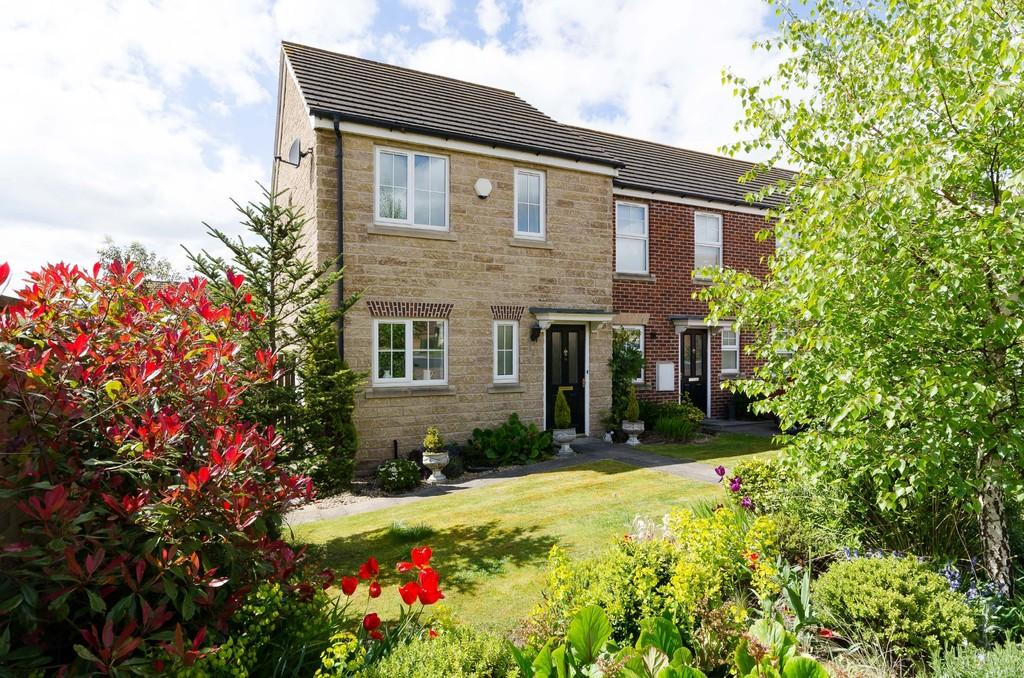 3 Bedrooms End Of Terrace House for sale in Barnsdale Way, Ackworth