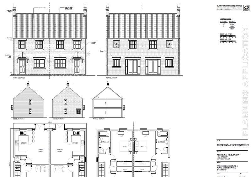 3 Bedrooms Semi Detached House for sale in High Street, Metheringham, Lincoln