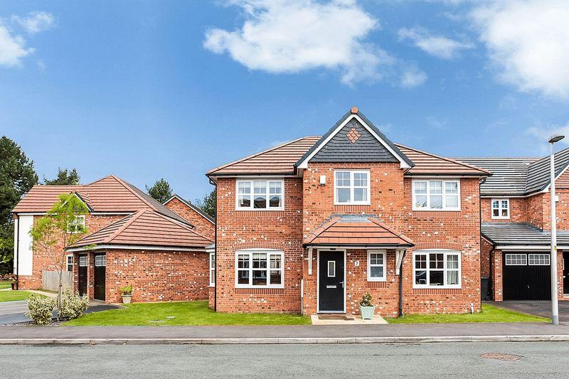 4 Bedrooms Detached House for sale in Bridestones Place, Eaton, Congleton