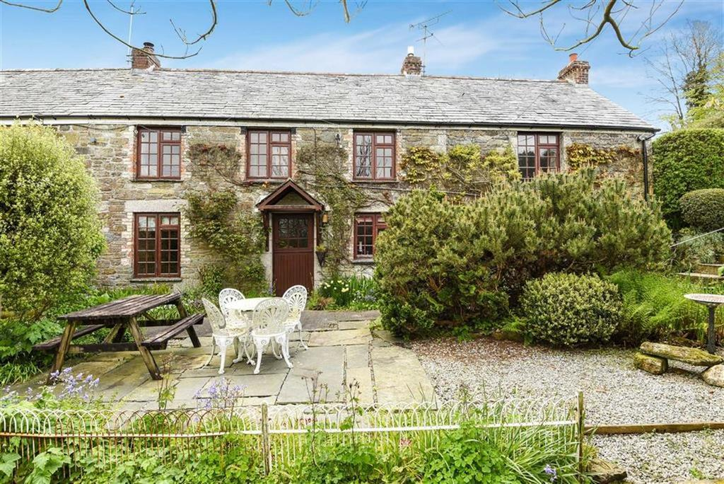 3 Bedrooms Semi Detached House for sale in Treveighan, St Teath, Bodmin, Cornwall, PL30