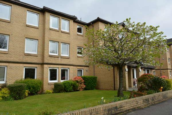 1 Bedroom Retirement Property for sale in Flat 18 Strathmore Court, 20 Abbey Drive, Glasgow, G14 9JX
