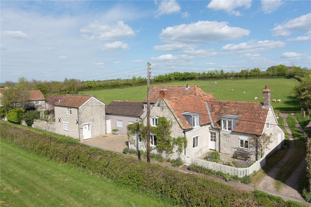 4 Bedrooms Detached House for sale in North Street, Babcary, Somerset, TA11