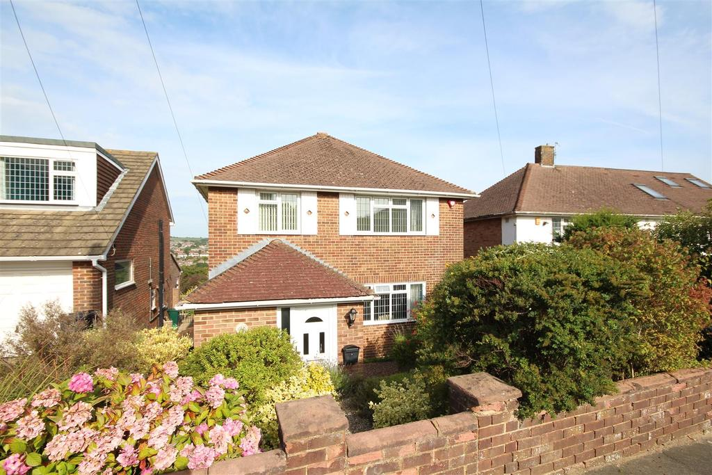 3 Bedrooms Detached House for sale in Eldred Avenue, Westdene, East Sussex