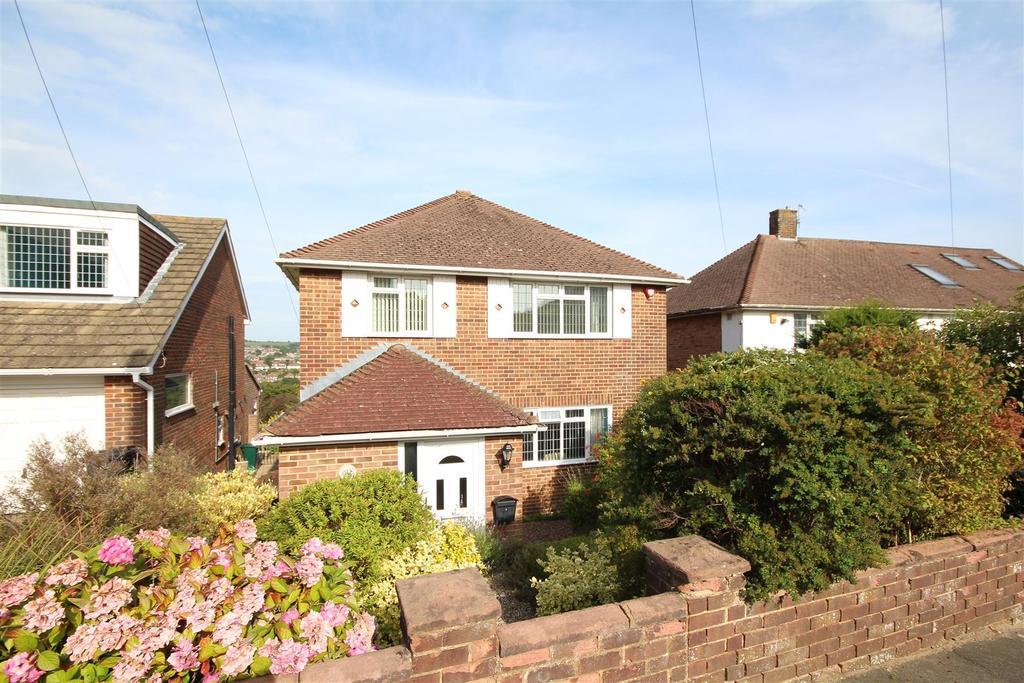 3 Bedrooms Detached House for sale in Eldred Avenue, Westdene, East Sussex