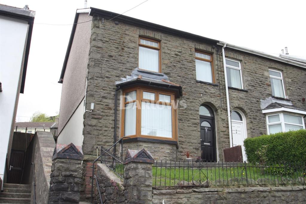 3 Bedrooms Semi Detached House for sale in Amos Hill, Penygraig