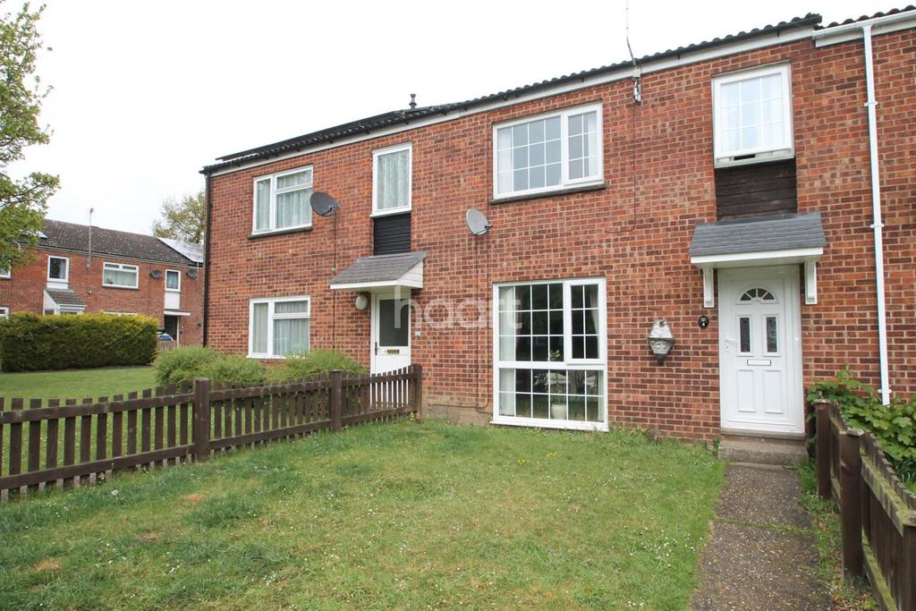 3 Bedrooms Terraced House for sale in Hawthorn Close, Bury St Edmunds