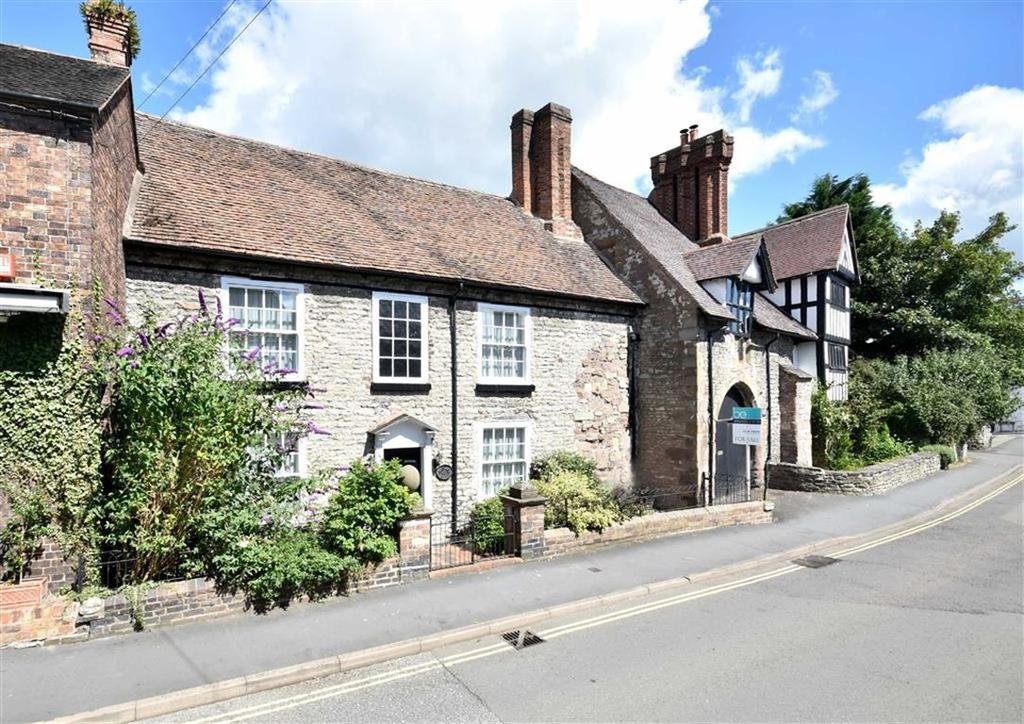 4 Bedrooms Cottage House for sale in Wenlock House, 48, High Street, Much Wenlock, Nr Bridgnorth, Shropshire, TF13