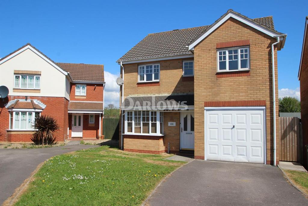 4 Bedrooms Detached House for sale in Clos Avro, Pengam Green, Cardiff