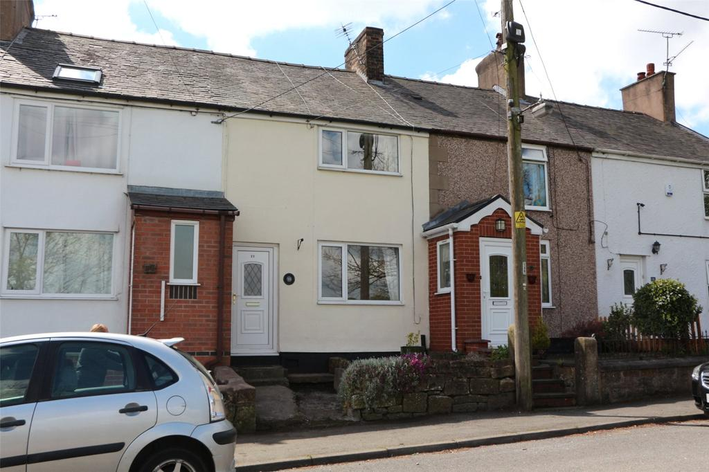 2 Bedrooms Terraced House for sale in Talwrn Road, Coedpoeth, Wrexham, LL11