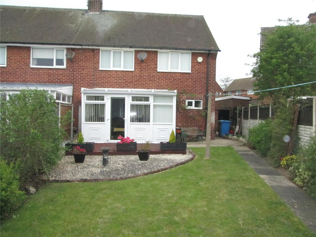 3 Bedrooms Semi Detached House for sale in Coleridge Road, Worksop, Nottinghamshire, S81