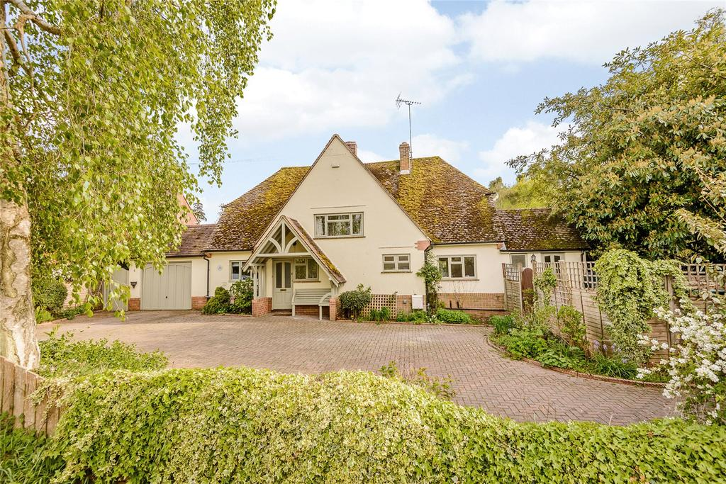 4 Bedrooms Detached House for sale in Church Road, Aldermaston, Reading