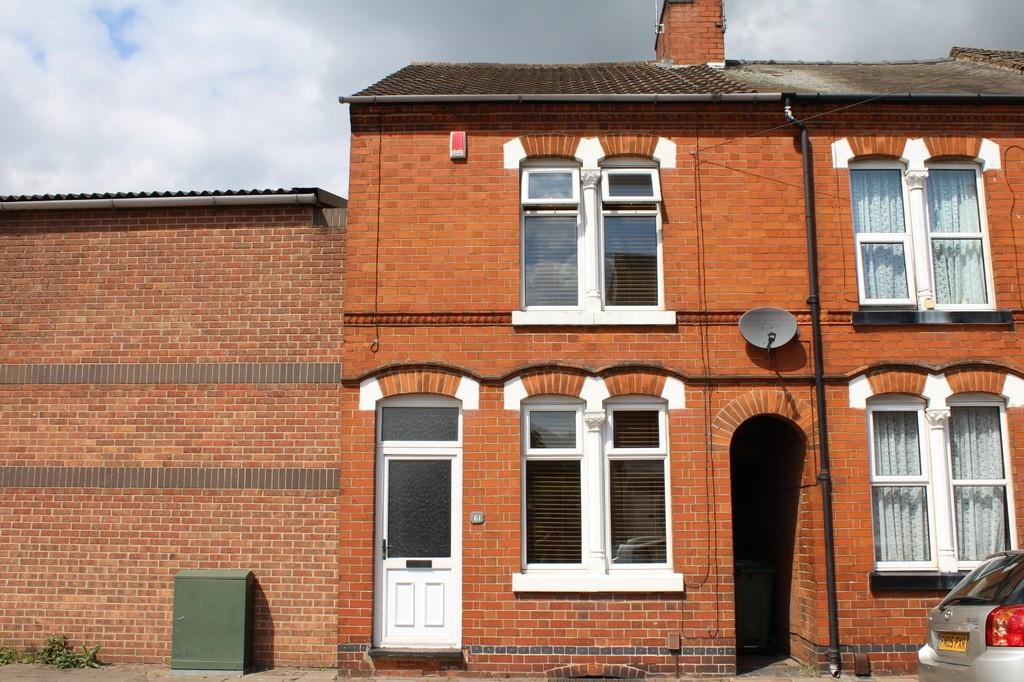 2 Bedrooms End Of Terrace House for sale in Judges Street, Loughborough