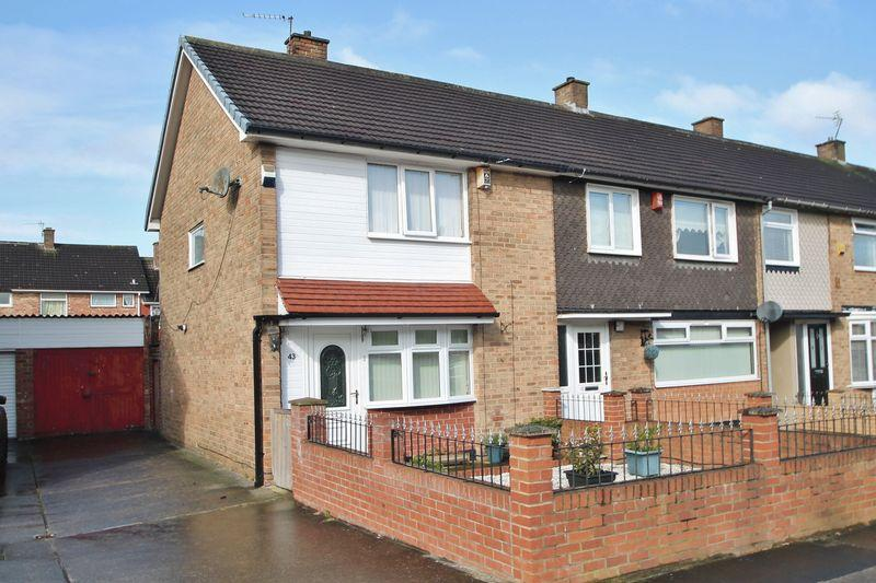 2 Bedrooms End Of Terrace House for sale in Darnton Drive, Easterside