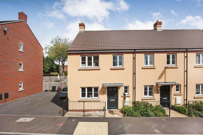 3 Bedrooms End Of Terrace House for sale in Grove Gate, Taunton