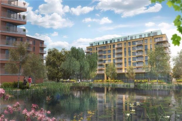 3 Bedrooms Apartment Flat for sale in The Knight Block Central Road, Dartford, DA1