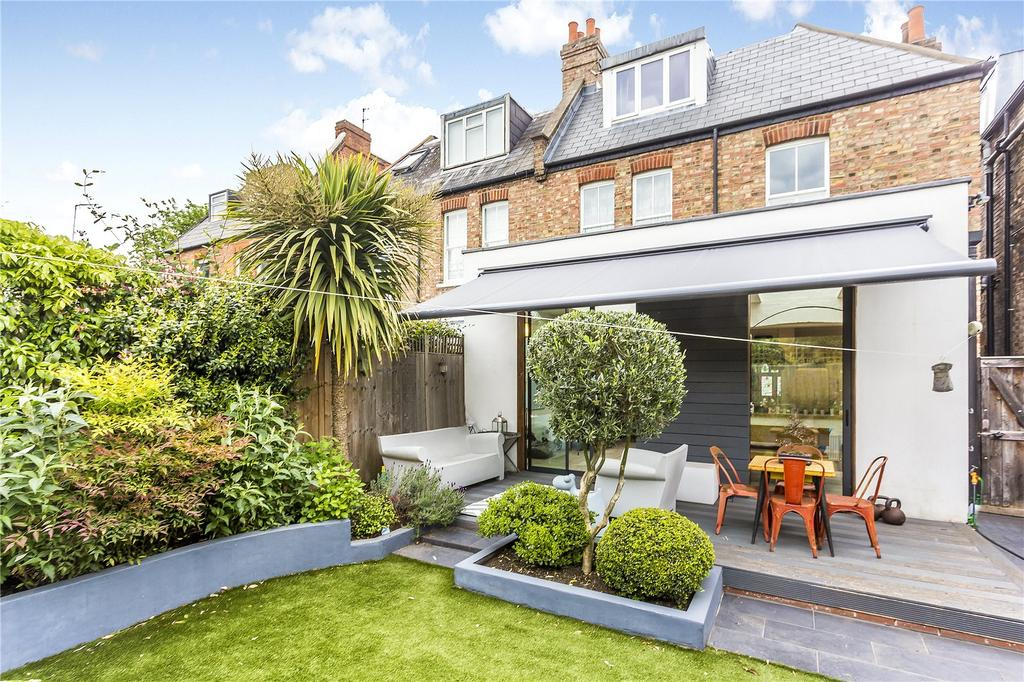 4 Bedrooms Semi Detached House for sale in Fauconberg Road, Grove Park, Chiswick, London, W4