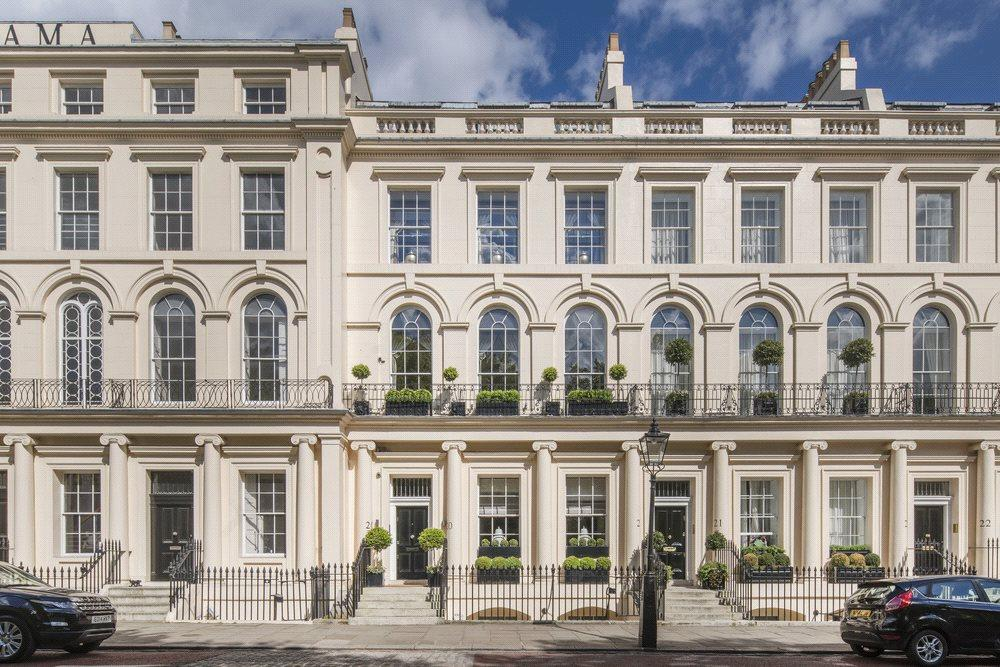 4 Bedrooms Terraced House for sale in Park Square East, Regent's Park, London, NW1