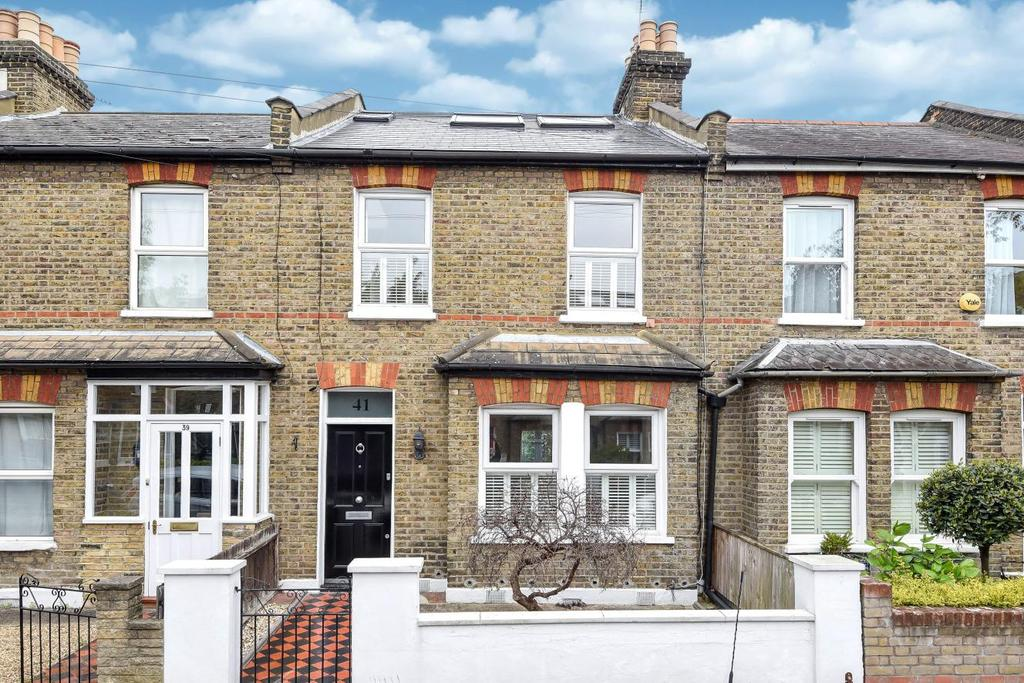 3 Bedrooms Terraced House for sale in Nelson Road, Wimbledon, SW19