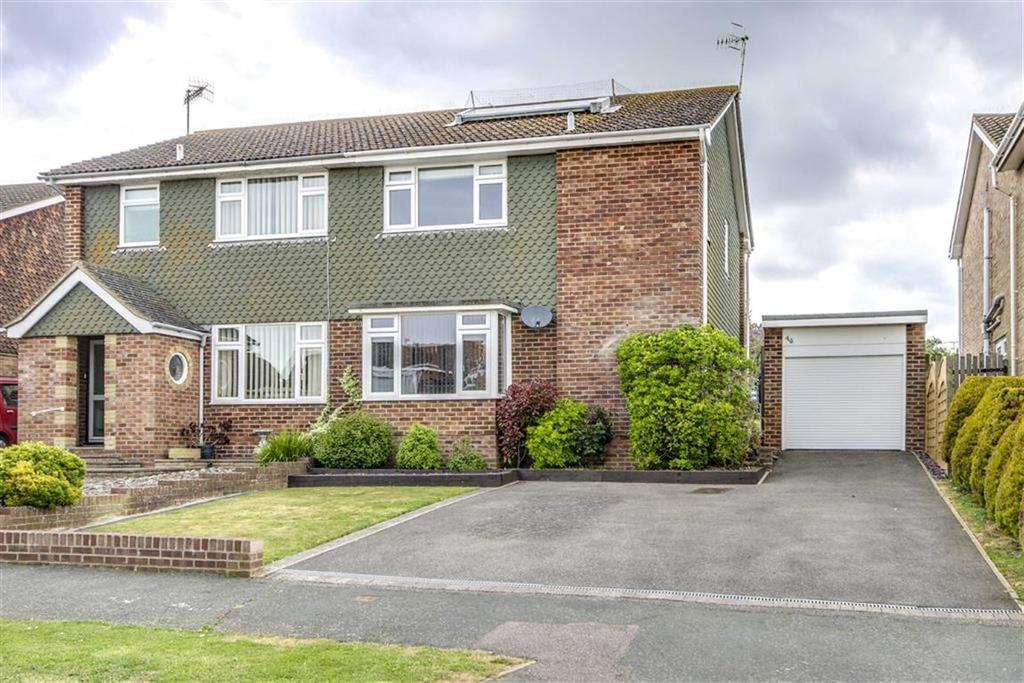 3 Bedrooms Semi Detached House for sale in Belgrave Crescent, Seaford