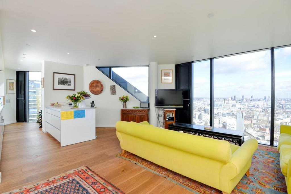 3 Bedrooms Penthouse Flat for sale in Walworth Road, Elephant and Castle, SE1