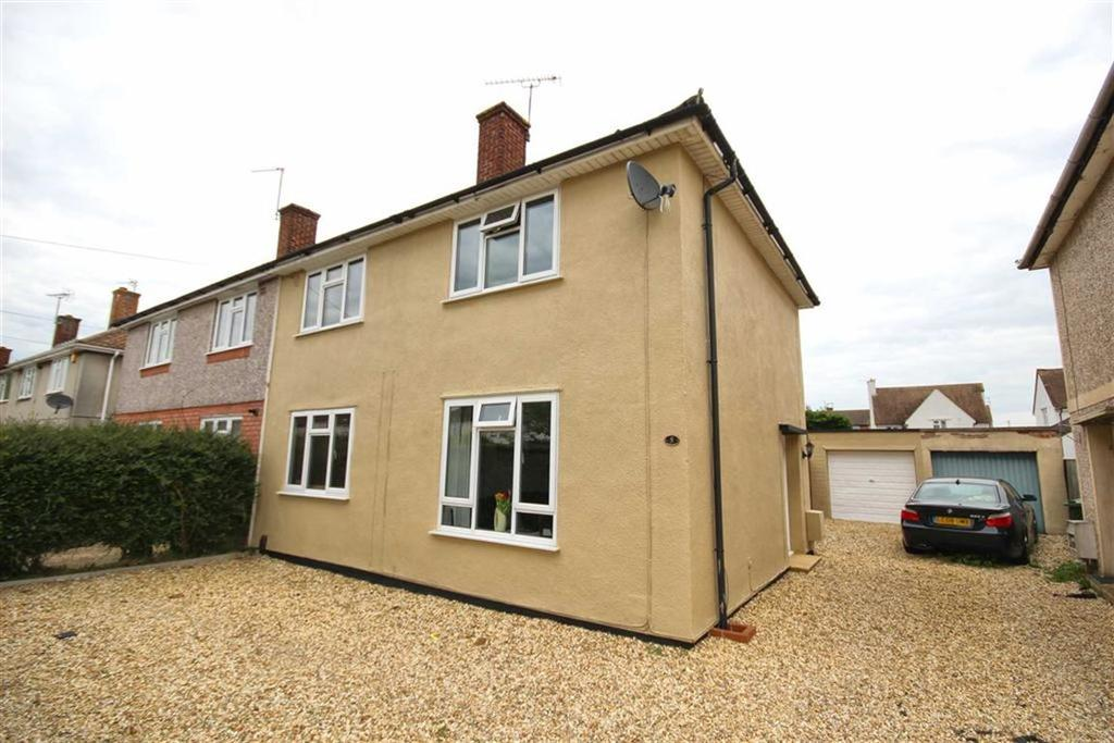 3 Bedrooms Semi Detached House for sale in Cornwall Avenue, Rowanfield, Cheltenham, GL51