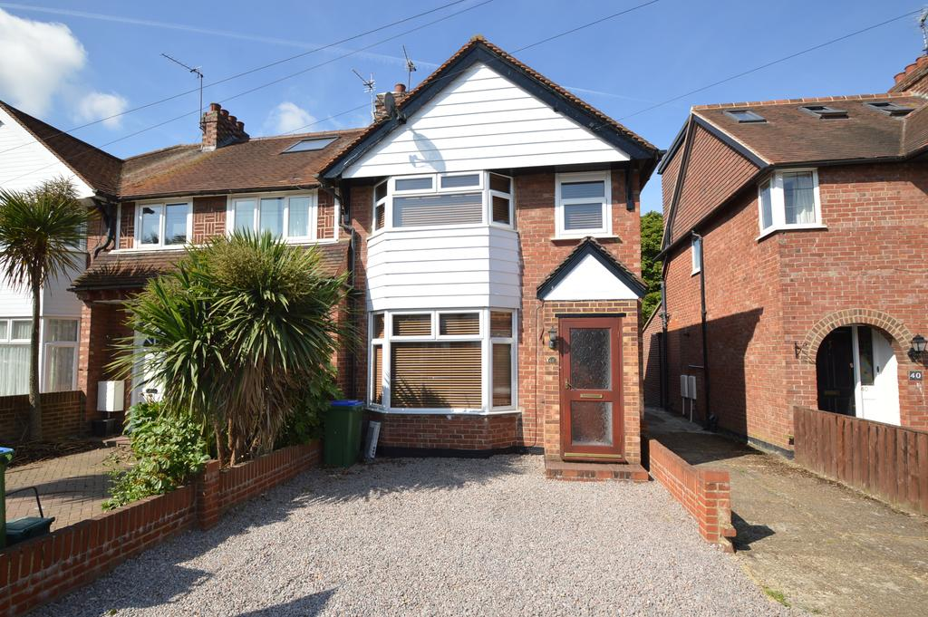 3 Bedrooms Semi Detached House for sale in Garden Road, WALTON ON THAMES KT12