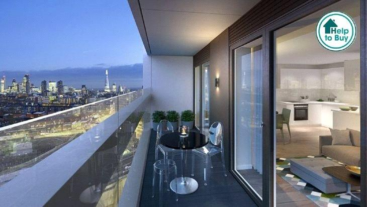 1 Bedroom Flat for sale in A24, XY Apartments, Maiden Lane, London, NW1