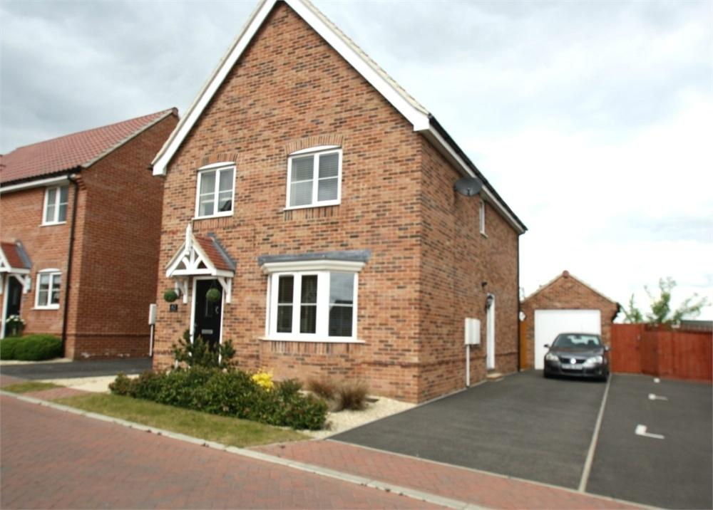 4 Bedrooms Detached House for sale in Crown Field Road, Glemsford, Sudbury, Suffolk