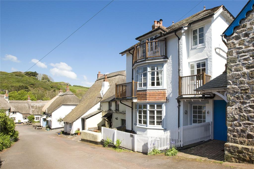 4 Bedrooms Terraced House for sale in Hope Cove, Kingsbridge, Devon, TQ7