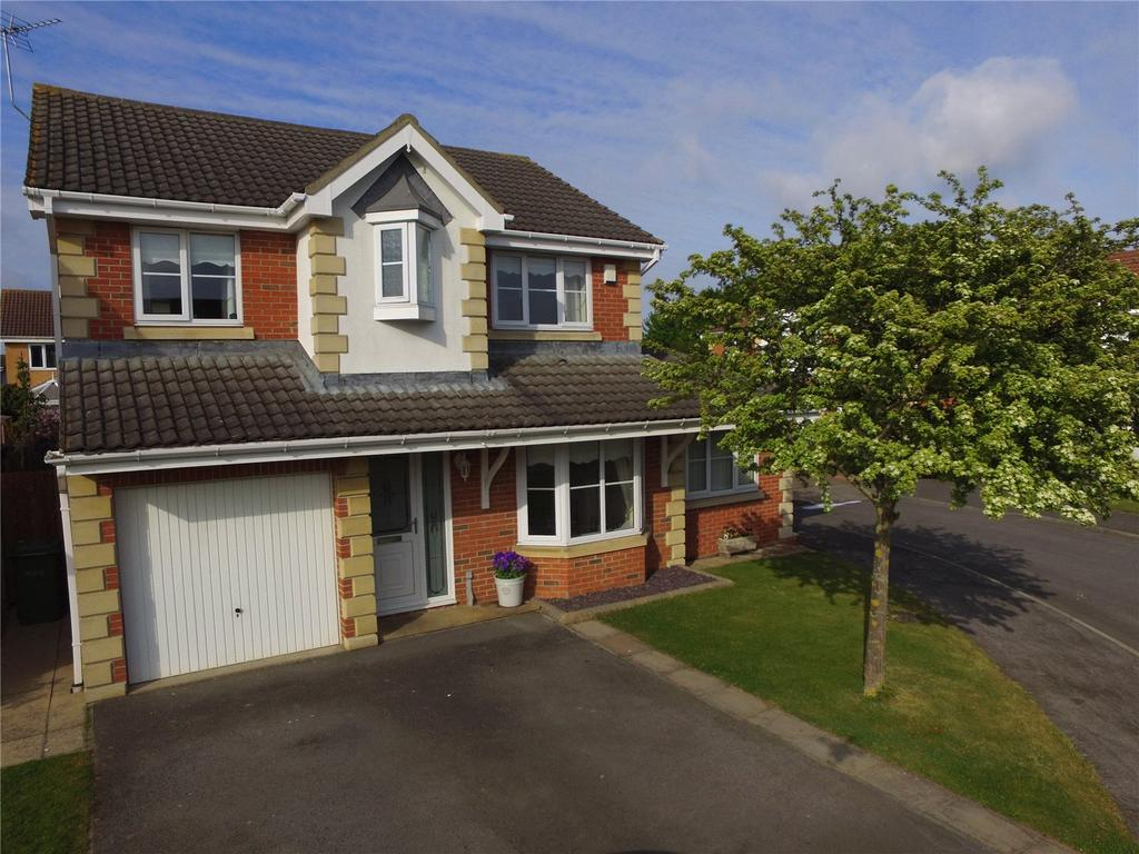 4 Bedrooms Detached House for sale in Hogarth Close, Wolviston Grange