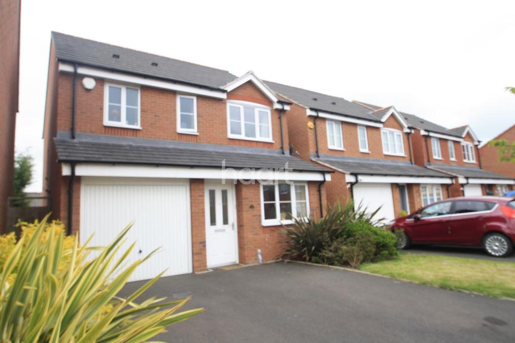 3 Bedrooms Detached House for sale in Astbury Way, Woodville, Swadlincote.
