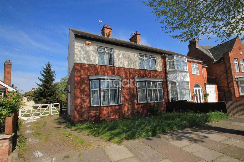 3 Bedrooms Semi Detached House for sale in Dumbleton Avenue, Leicester