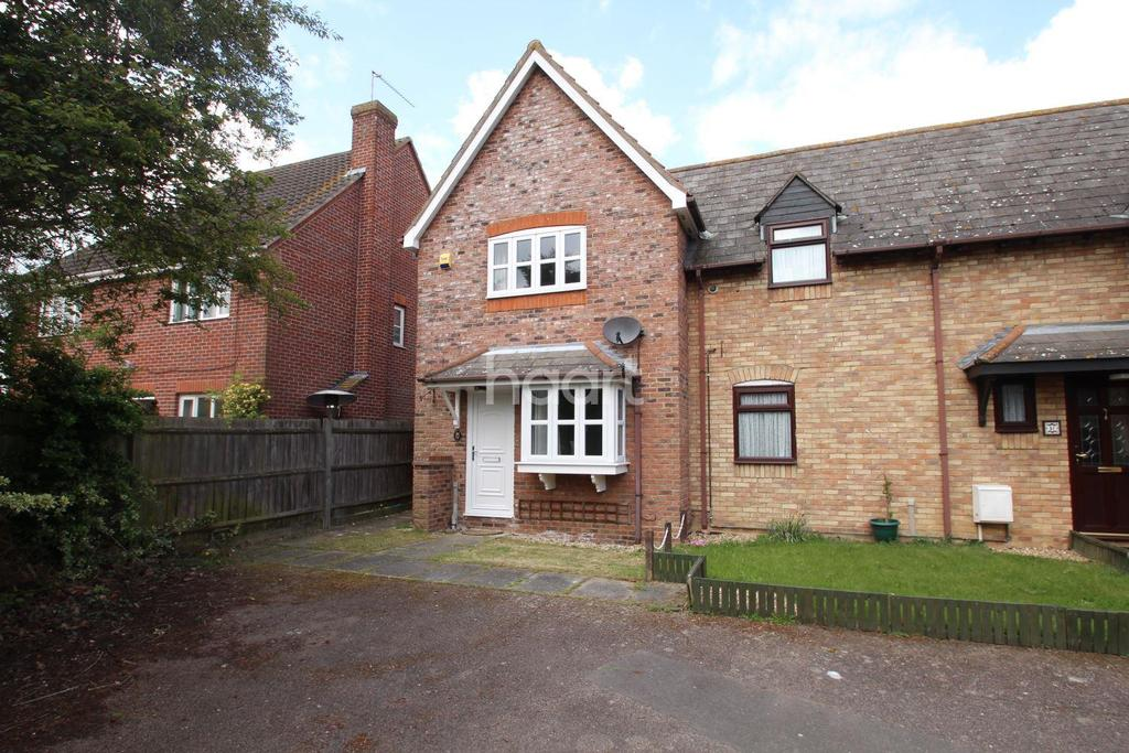 2 Bedrooms End Of Terrace House for sale in Victoria Gardens, Highwoods