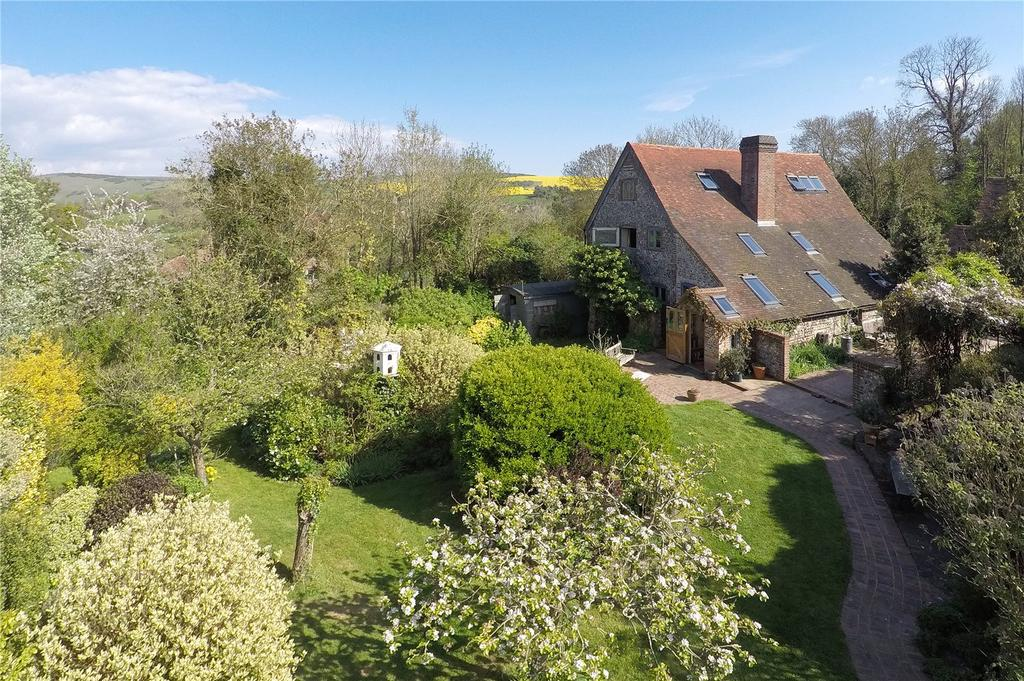 5 Bedrooms Barn Conversion Character Property for sale in Dukes Green, Alfriston, Polegate, East Sussex