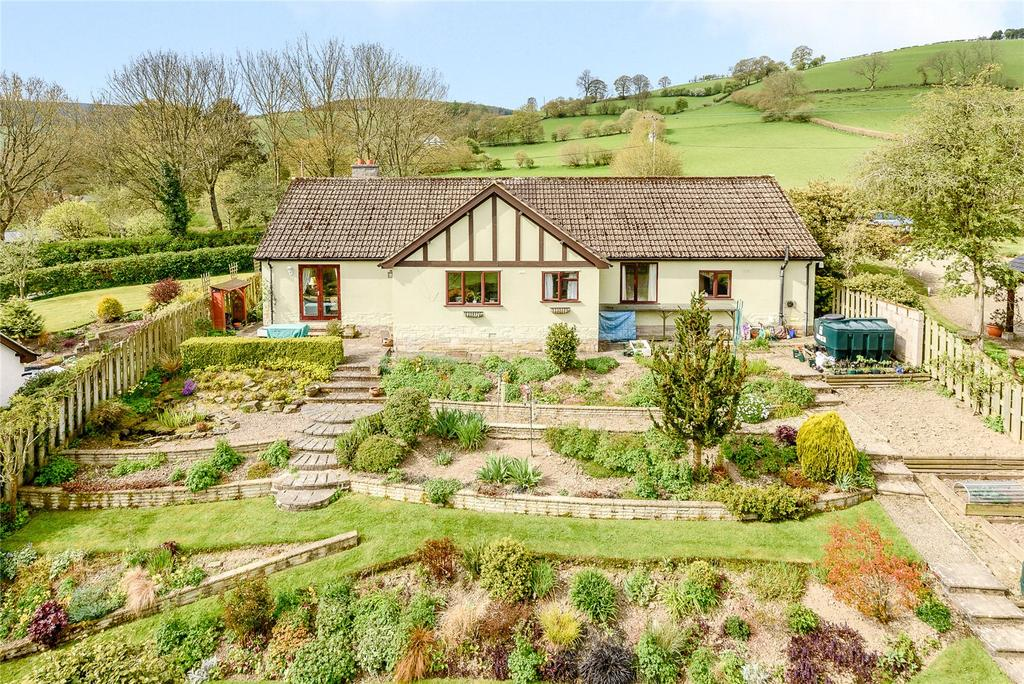 3 Bedrooms Detached Bungalow for sale in Bleddfa, Knighton, Powys