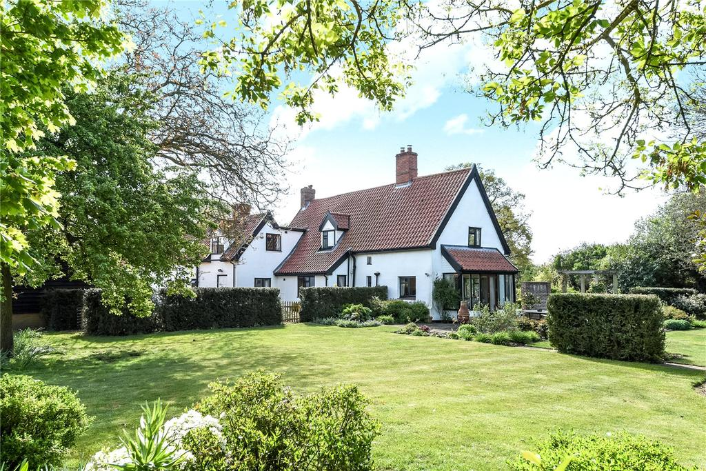 4 Bedrooms Detached House for sale in Lower Road, Westerfield, Ipswich, IP6