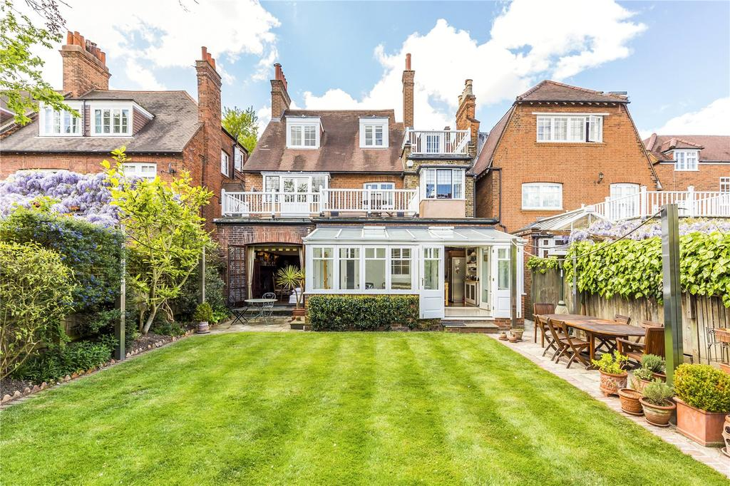 5 Bedrooms Detached House for sale in Queen Annes Grove, Bedford Park, London, W4