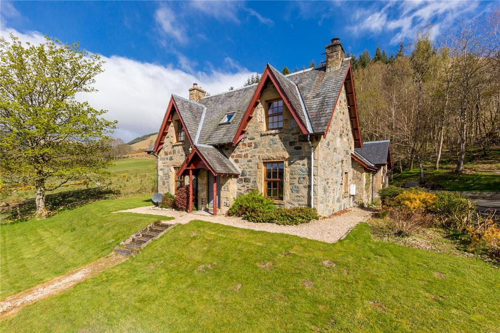 4 Bedrooms Detached House for sale in The Smiddy, Balquhidder, Lochearnhead, Perthshire, FK19