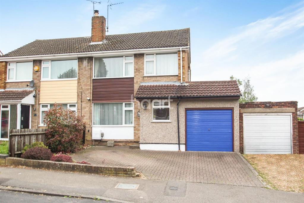 3 Bedrooms Semi Detached House for sale in Extended In Stopsley Catchment