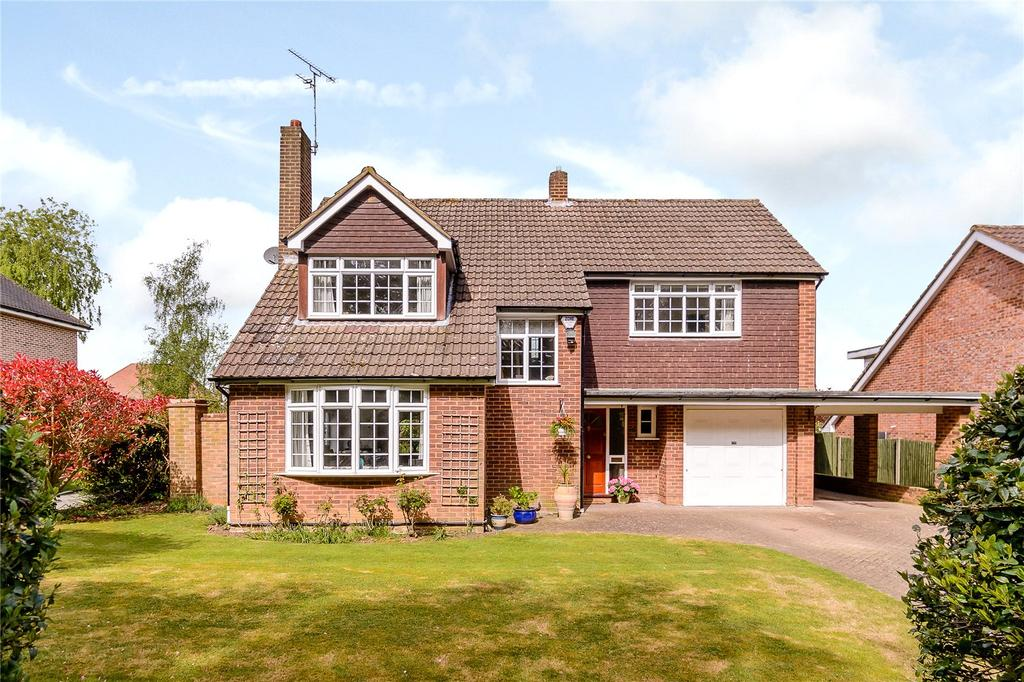 4 Bedrooms Detached House for sale in Oakfield Road, Harpenden, Hertfordshire