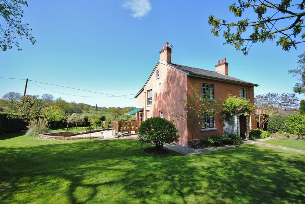 4 Bedrooms Detached House for sale in Hare Hill, Prestbury Road, Over Alderley