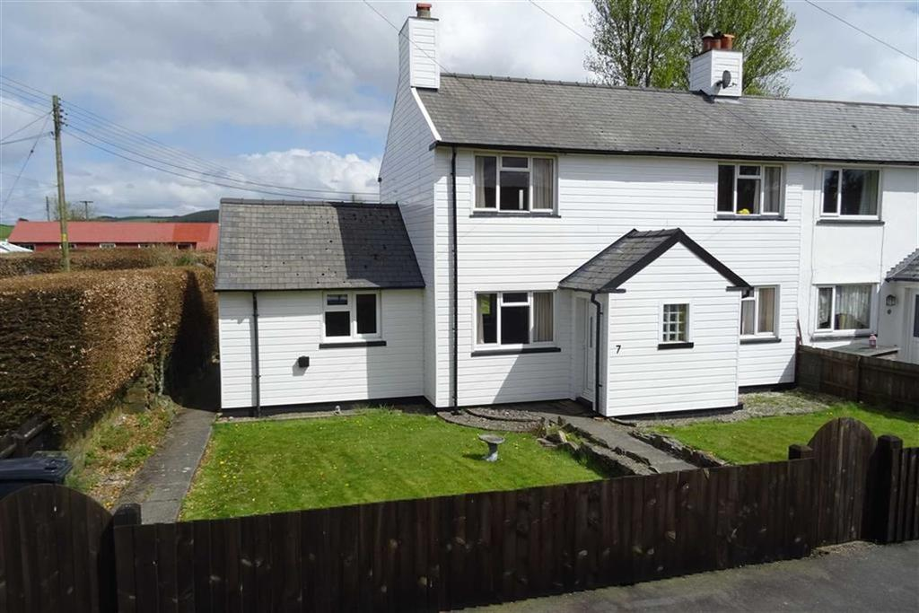 3 Bedrooms Semi Detached House for sale in 7, Ffordd Y Coedwyr, Staylittle, Llanbrynmair, Powys, SY19