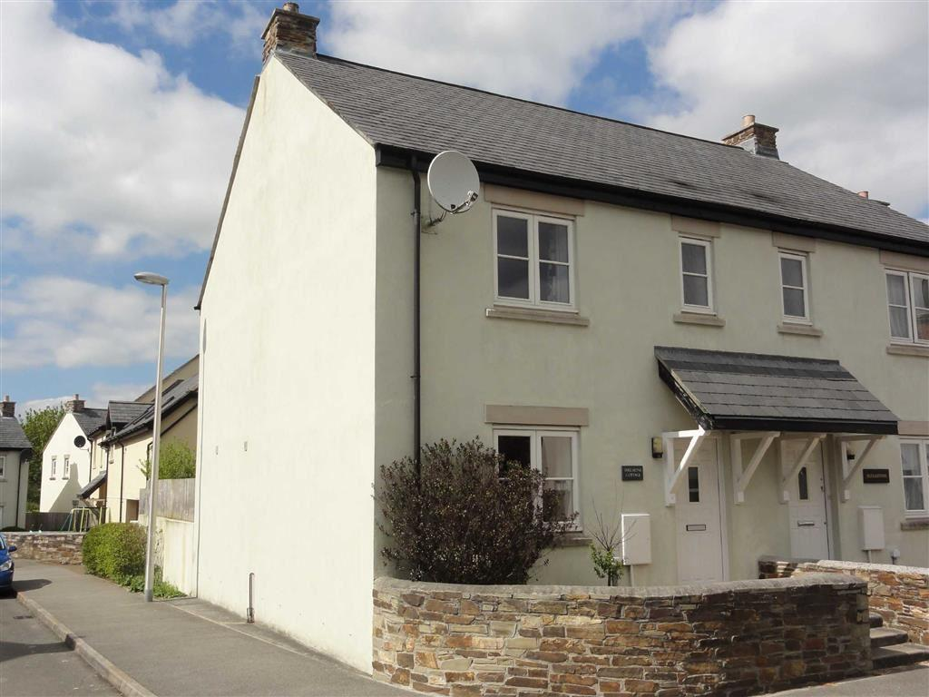 3 Bedrooms Semi Detached House for sale in Launceston Road, Bridestowe, Okehampton, Devon, EX20