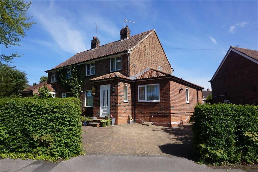 3 Bedrooms Semi Detached House for sale in Plantation Drive, North Ferriby, North Ferriby, HU14