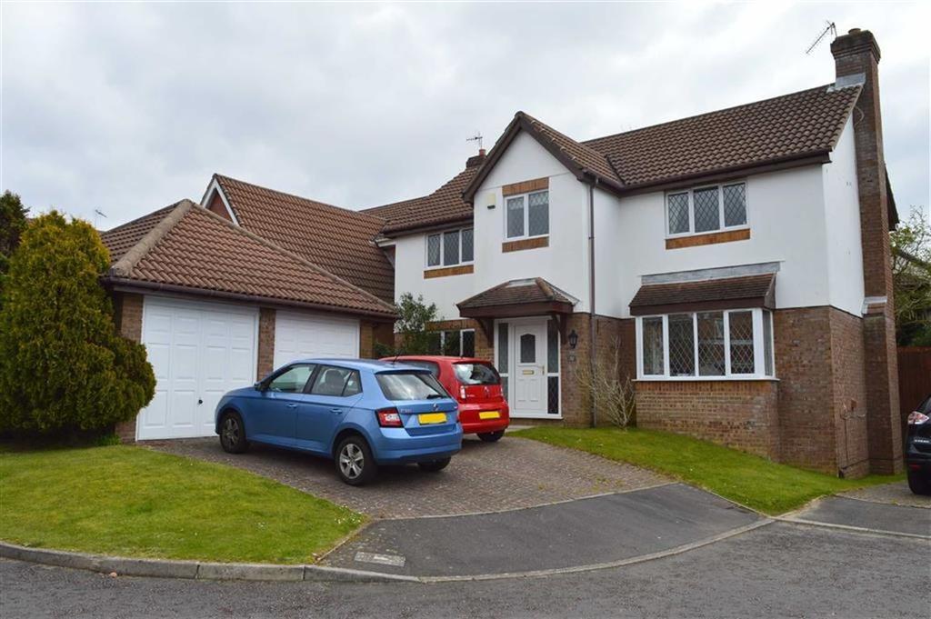 4 Bedrooms Detached House for sale in Ffordd Draenen Ddu, Newton, Swansea