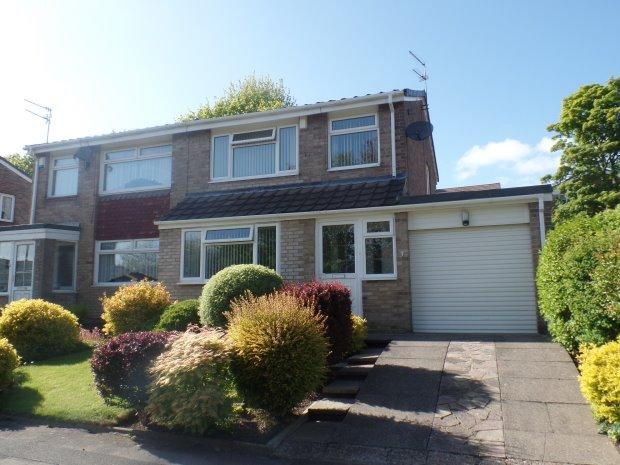 3 Bedrooms Semi Detached House for sale in CHILTON GARTH, PETERLEE, PETERLEE